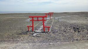 佐賀の海中鳥居
